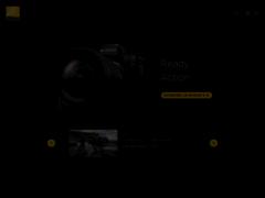 Aperçu du site http://www.nikon.fr/