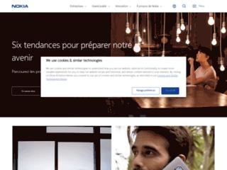 Aperçu du site http://www.nokia.fr/