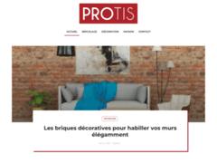 Aperçu du site http://www.protis.fr/