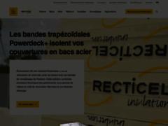 Aperçu du site http://www.recticelinsulation.fr/