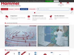 Aperçu du site http://www.robinetterie-hammel.fr/