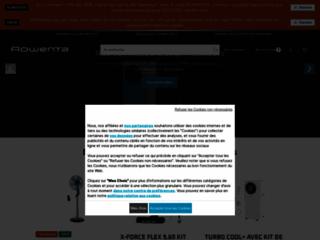 Aperçu du site http://www.rowenta.fr/