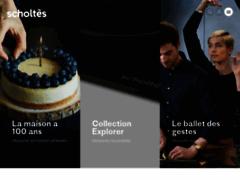 Aperçu du site http://www.scholtes.fr/