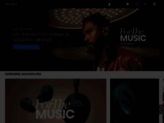 Aperçu du site http://www.sony.fr/