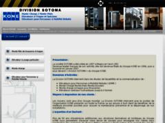 Aperçu du site http://www.sotoma.fr/