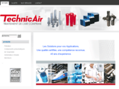 Aperçu du site http://www.technic-air.com/