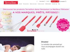 Aperçu du site http://www.terraillon.fr/