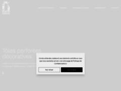 Aperçu du site http://www.tole-perforee-sur-mesure.com/