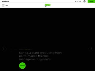 Aperçu du site http://www.valeo.com/