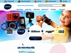 Aperçu du site http://www.vtech-jouets.com/