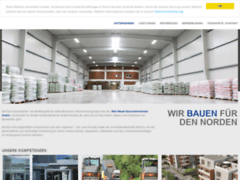 Aperçu du site http://www.willimeyerbau.de/